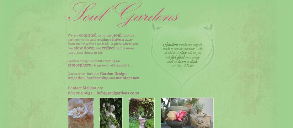 Soul Gardens website